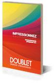 Couverture du catalogue Supports de communication Doublet