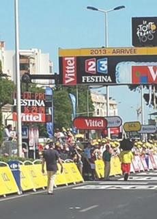 Doublet, partenaire technique du Tour de France